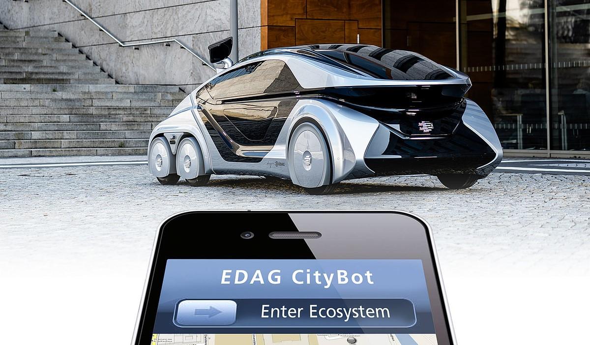 EDAG CityBot ecosystem app