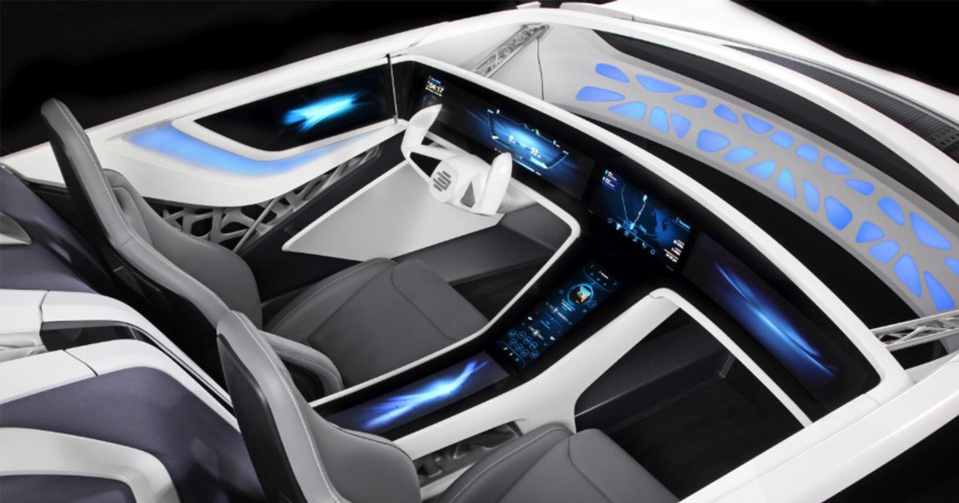 The interior of the future